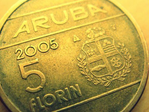 Aruban Currency A 5 Florin Coin About Us 3