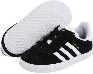 adidas Kids - Gazelle 2 (Infant/Toddler) (Black/White/Metallic ...