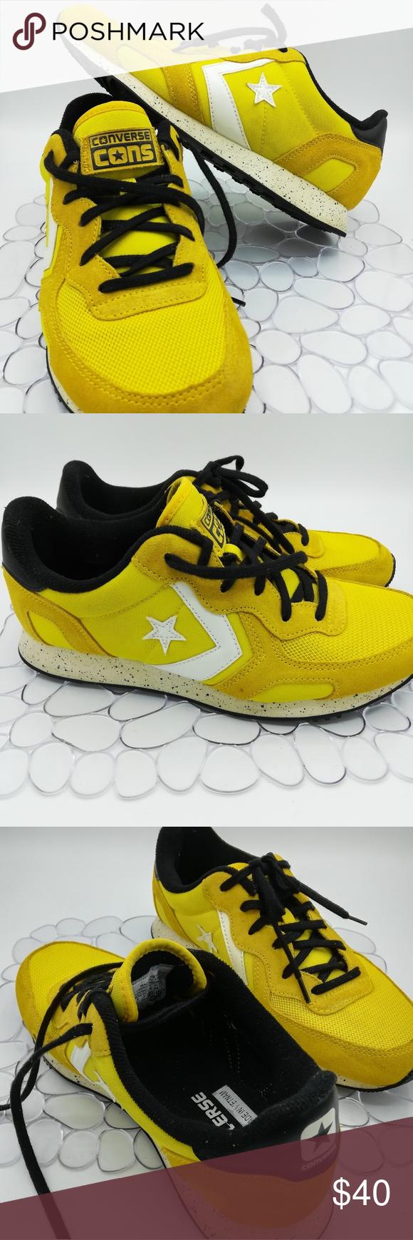 Converse Cons rare yellow and black