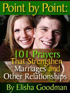 40 Prayer Points to Know God's Will In Marriage | goodman | Elisha