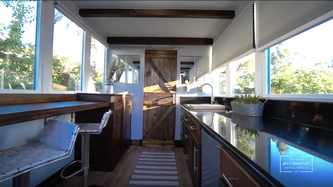 Superbe A Beautiful And Functional Shipping Container Home From Alternative Living  Spaces!