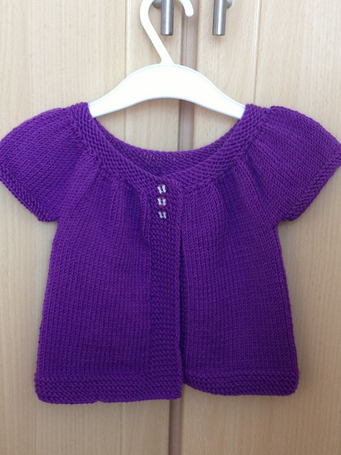 Baby Kina - (3-18 months) (short+ long sleeved version) pattern by Muriela