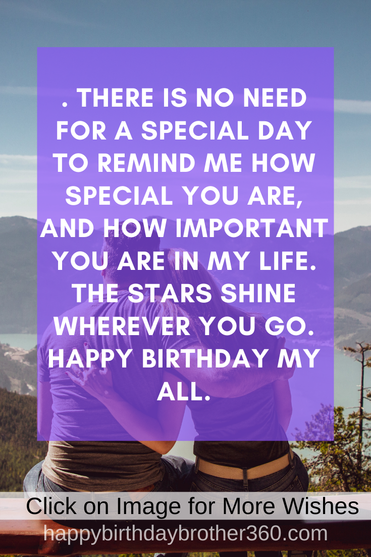 Happy Birthday Letter For Special Someone Birthday Message To Girlfriend Happy Birthday Lettering Happy Birthday Quotes For Friends