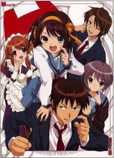 The Melancholy Of Haruhi Suzumiya Anime Melancholy Anime Movies