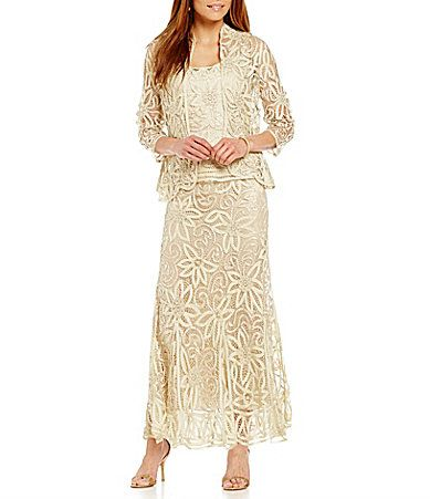 8748819a8a7 Soulmates 3Piece Beaded Embroidered Crochet Skirt Set  Dillards ...
