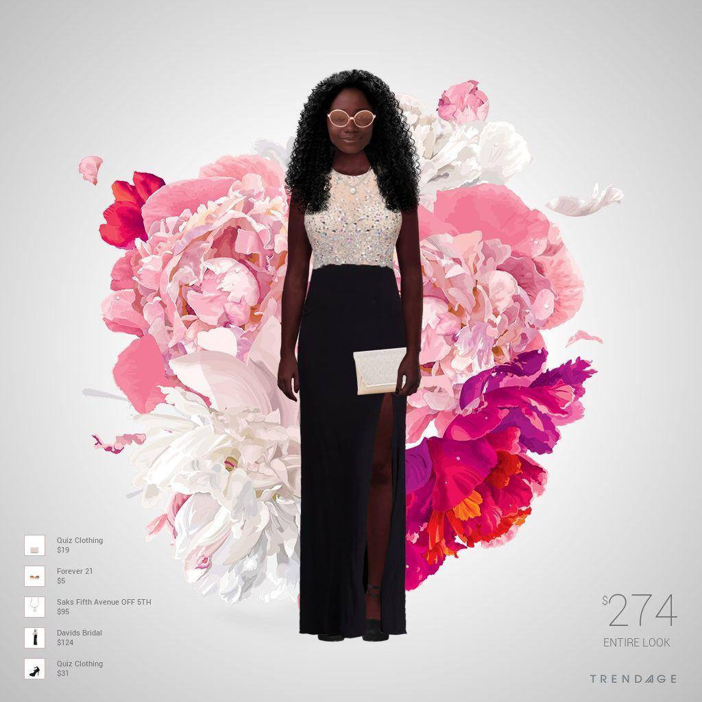 Traje de moda hecho por Viviana usando ropa de Saks Fifth Avenue OFF ...
