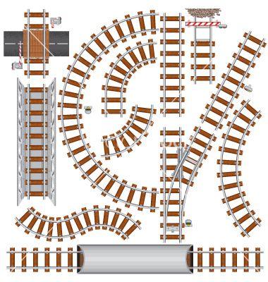 Track Printables Train Train Tracks Paper Train