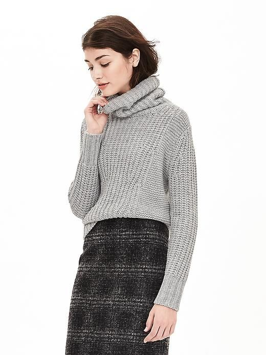 Mixed-Stitch Turtleneck Sweater | Banana Republic | Favorite ...