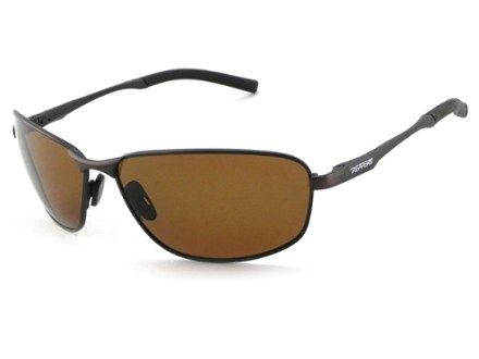 c7841aafa3b Pepper s Nightfall Polarized Sunglasses Antique Brown Brown ...