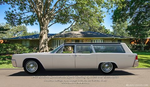1963 lincoln continetal sport touring wagon vans and wagons pinterest cars station wagon. Black Bedroom Furniture Sets. Home Design Ideas