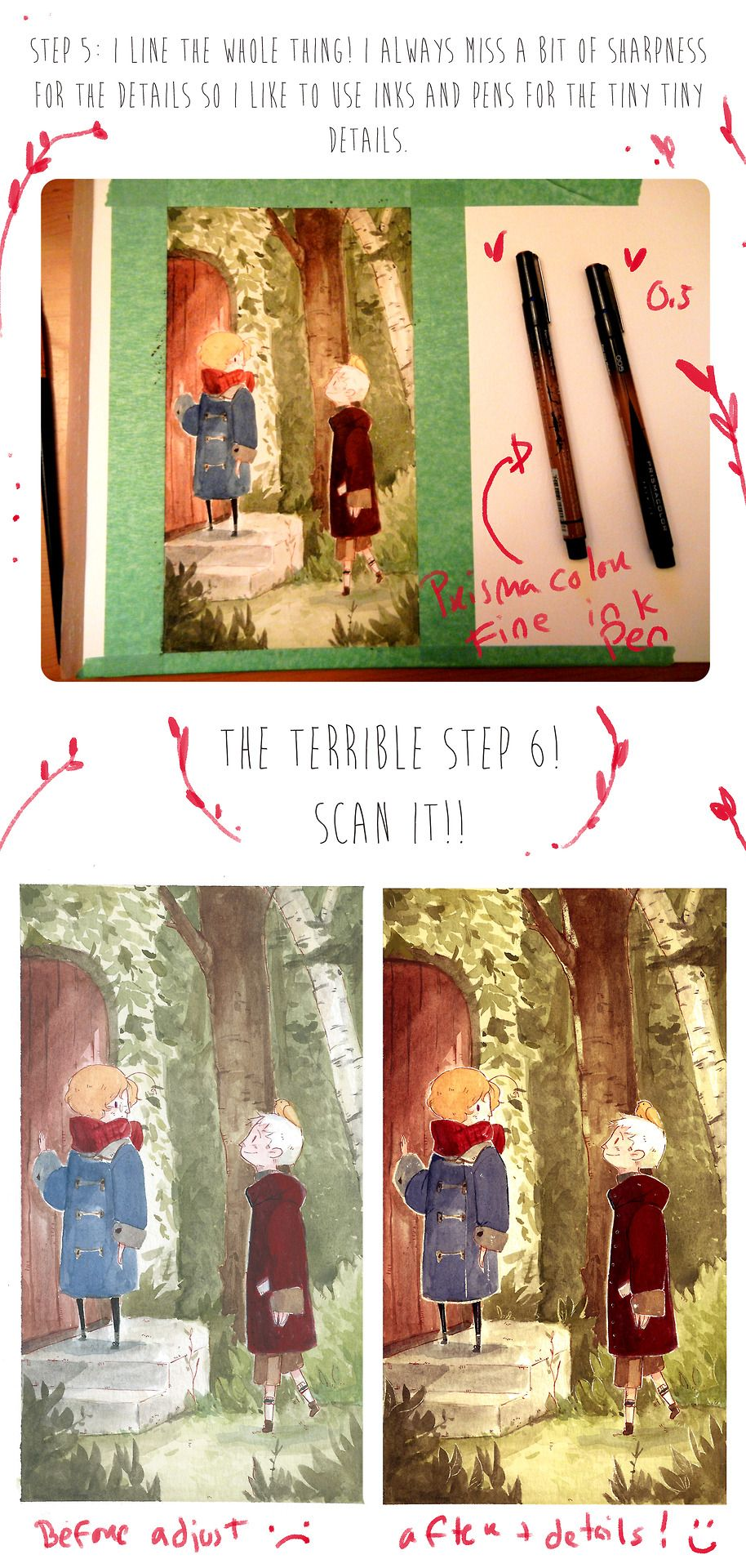 Watercolour tutorial by maplevogel art anime pinterest watercolour tutorial by maplevogel baditri Image collections