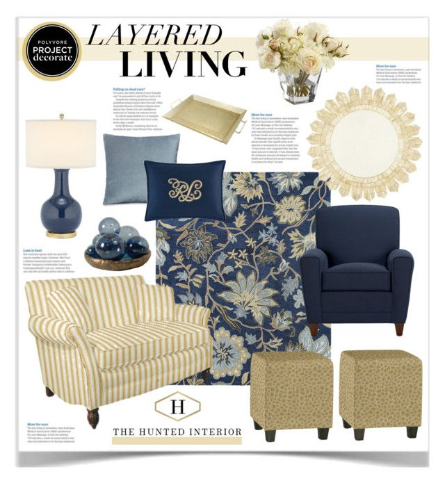 """""""Layered Living With The Hunted Interior 1"""" by jpetersen ❤ liked on Polyvore featuring interior, interiors, interior design, home, home decor, interior decorating, Ethan Allen, Safavieh, Ralph Lauren and Ballard Designs"""