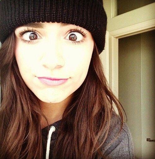 She has such pretty eyes