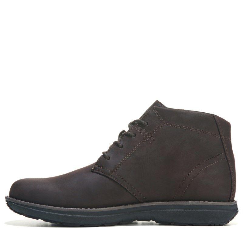 Mens Timberland Edgemont Slip Resistant Chukka Boot Brown
