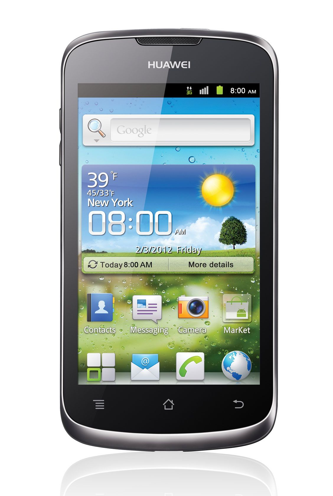 Huawei Ascend All mobile phones, Mobile number