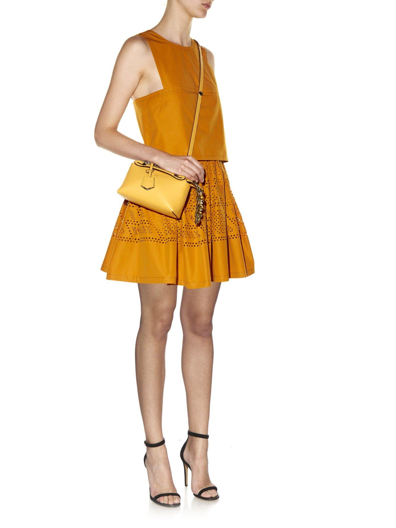 2209f21278 By The Way mini crystal-tail cross-body bag | Fendi | MATCHESFASHION ...