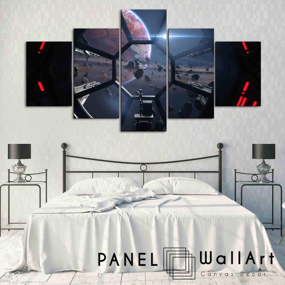 Star Wars The Fighters Panel Wall Art Panelwallart Com In 2020 Star Wars Decor Star Wars Room Panel Wall Art