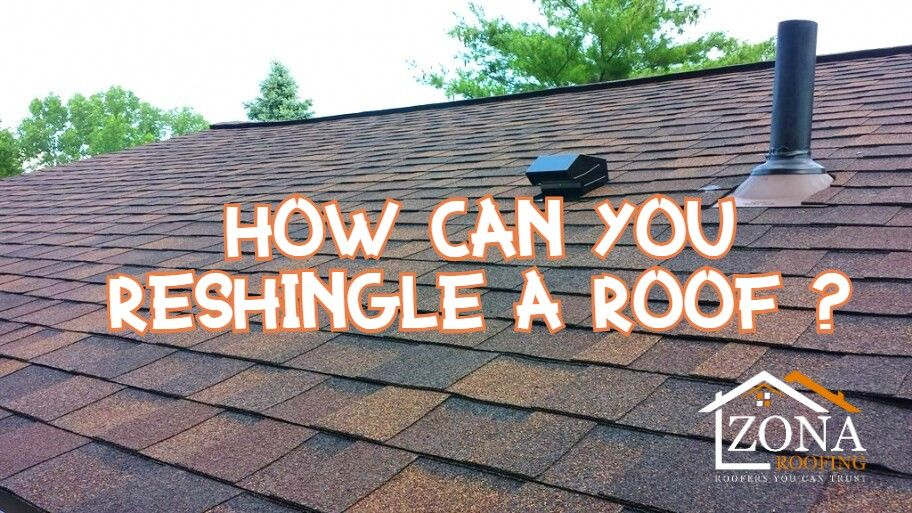 Tips On How To Re Shingle Your Roof In 2020 Residential Roofing Roof Edge Roofing