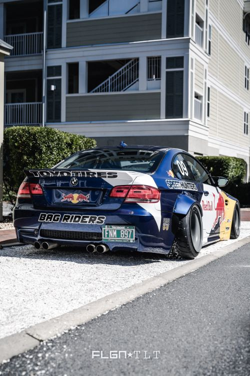Bmw M3 E92 Liberty Walk Red Bull Edition German Automotive Exotica