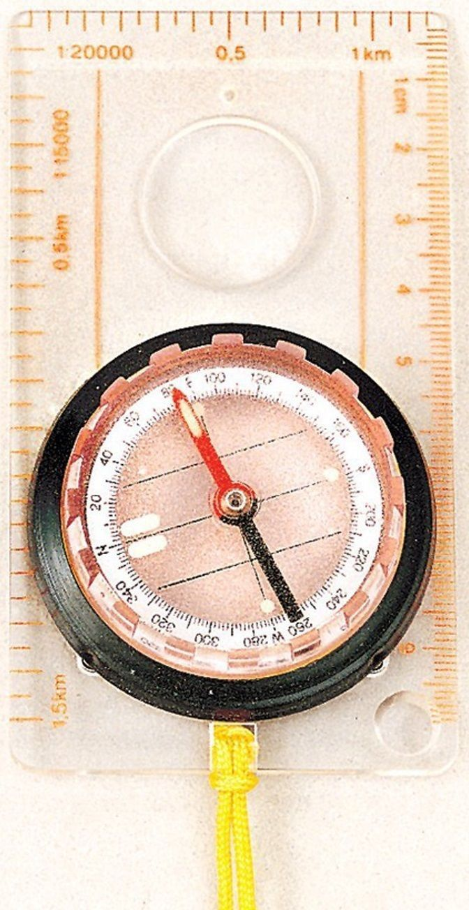 Rothco Liquid Filled Map Compass Fine