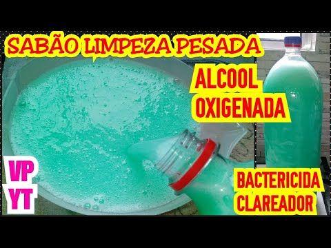 Esse E Pra Limpeza Pesada Com Alcool E Oxigenada Bactericida E