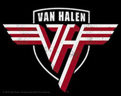 Van Halen Shield Logo Sticker Van halen, Logo sticker, Halen