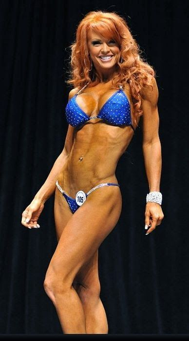 Gorgeous Red Haired Canadian Female Fitness Model