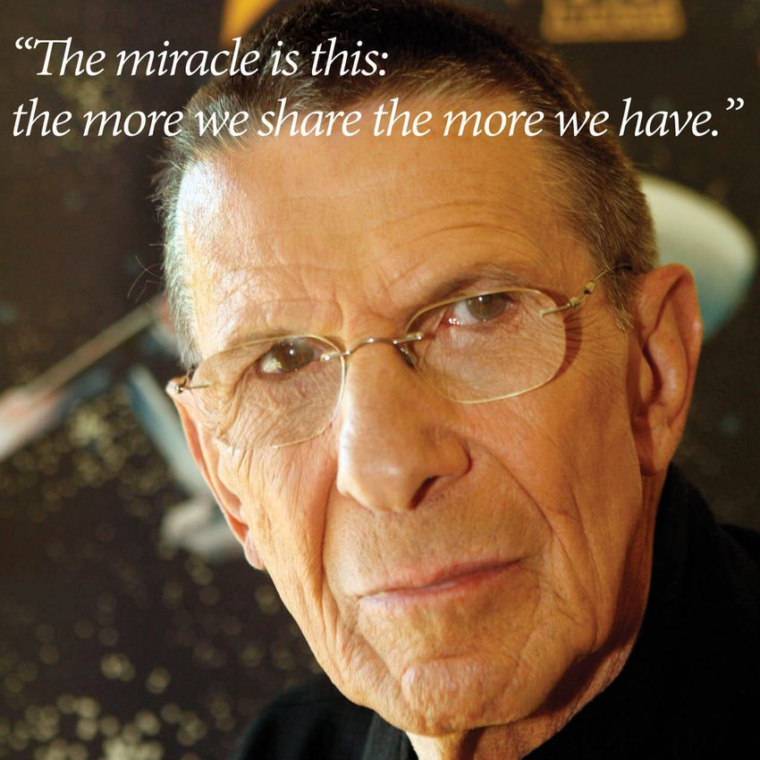 Leonard Nimoy Quotes Enchanting 10 Leonard Nimoy Quotes That Inspired Us To Boldly Go  Leonard