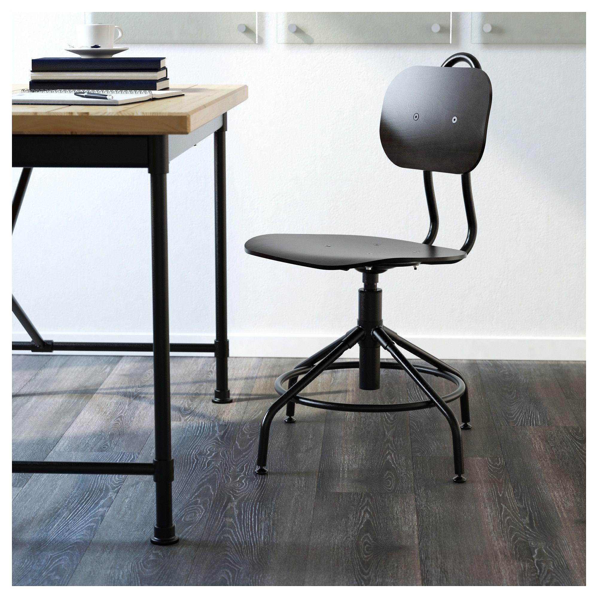 Ikea kullaberg swivel chair black swivel chair chair
