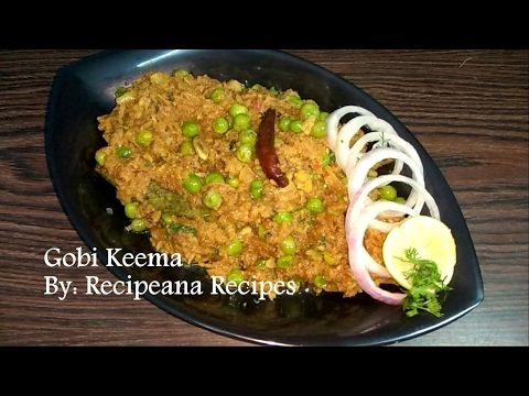 Gobi keema recipe in hindi gobi keema recipe in hindi recipeana youtube forumfinder Images