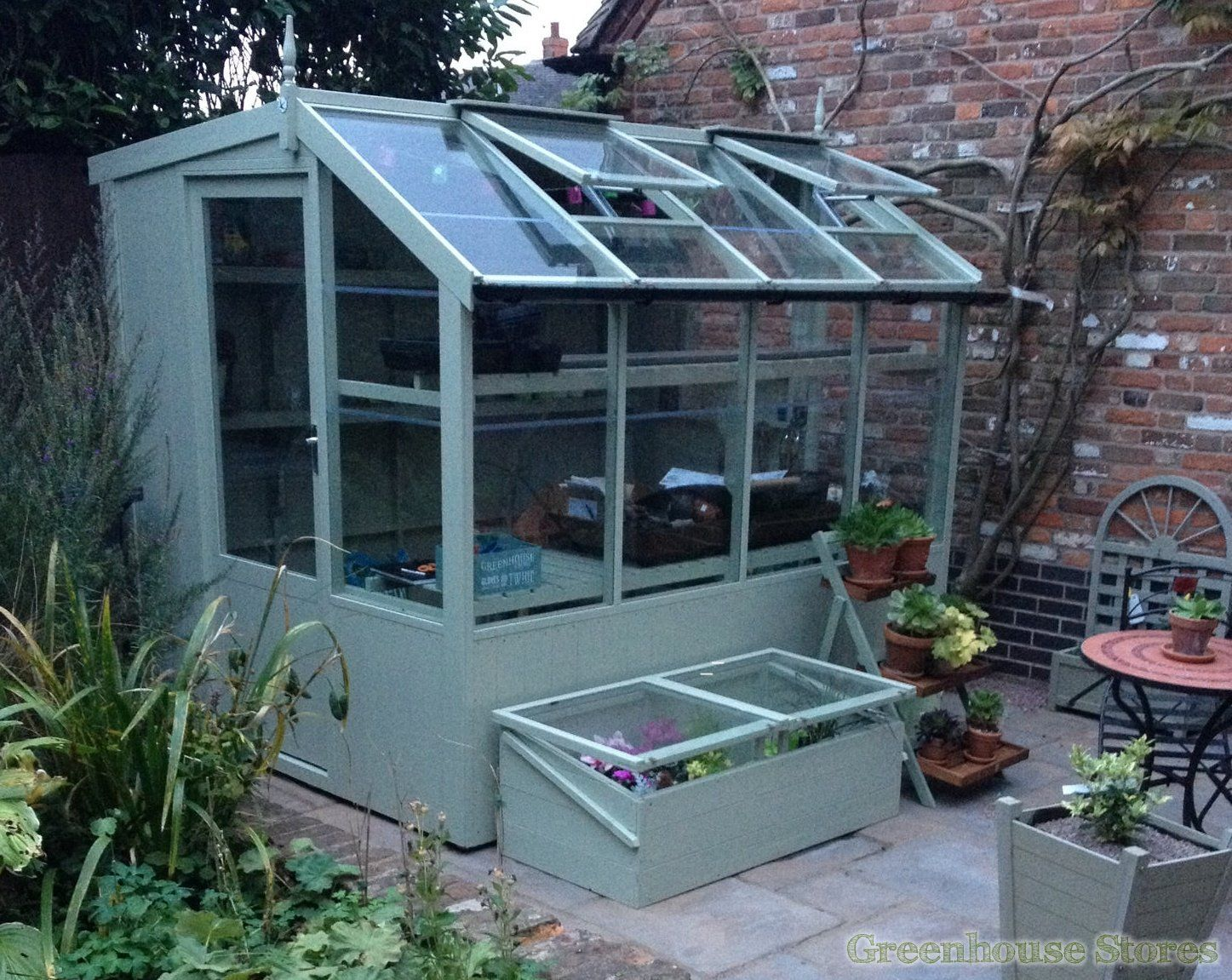 Swallow Jay 6x8 Wooden Potting Shed   Greenhouse Stores