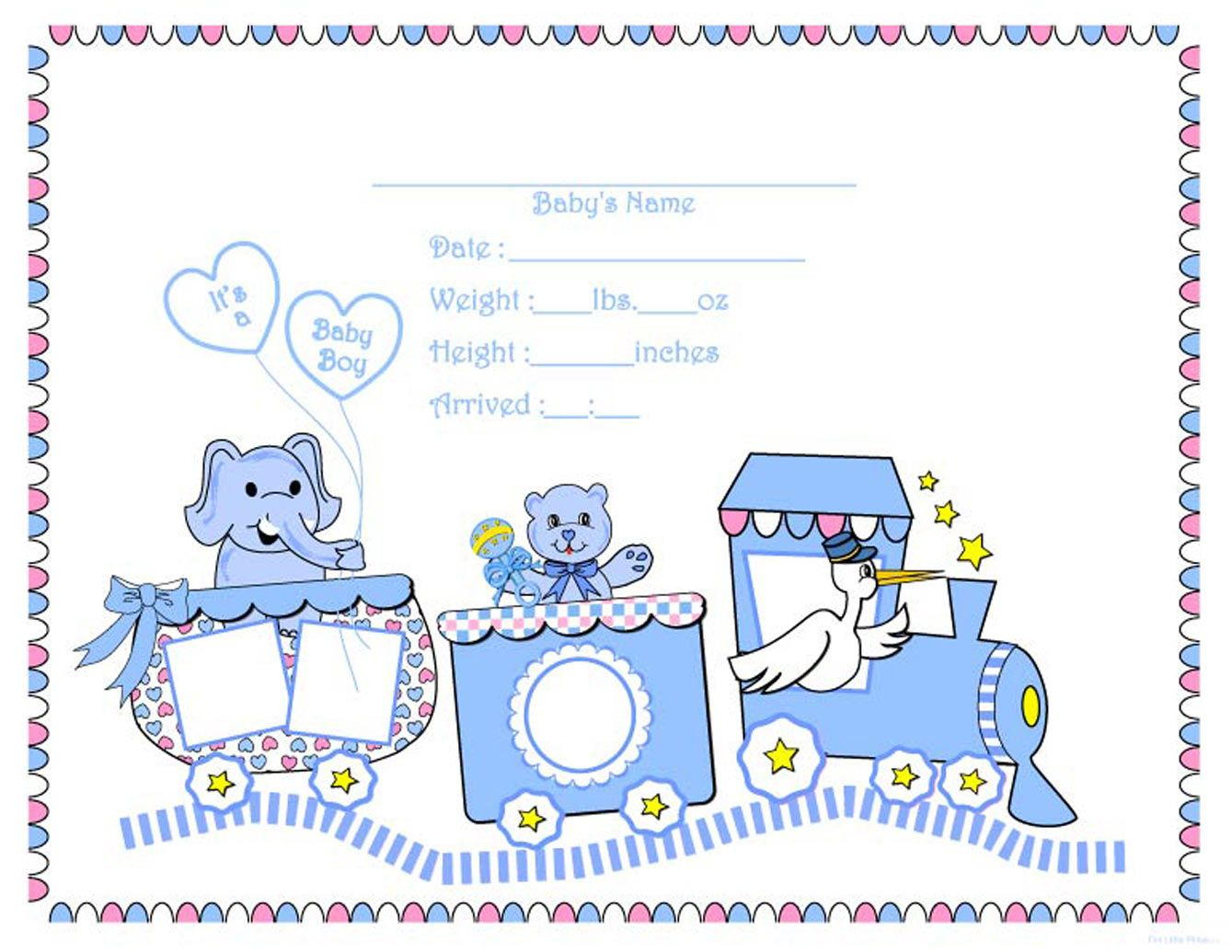 Baby Train Clip Art    New Born Baby Girl Baby Boy New Years