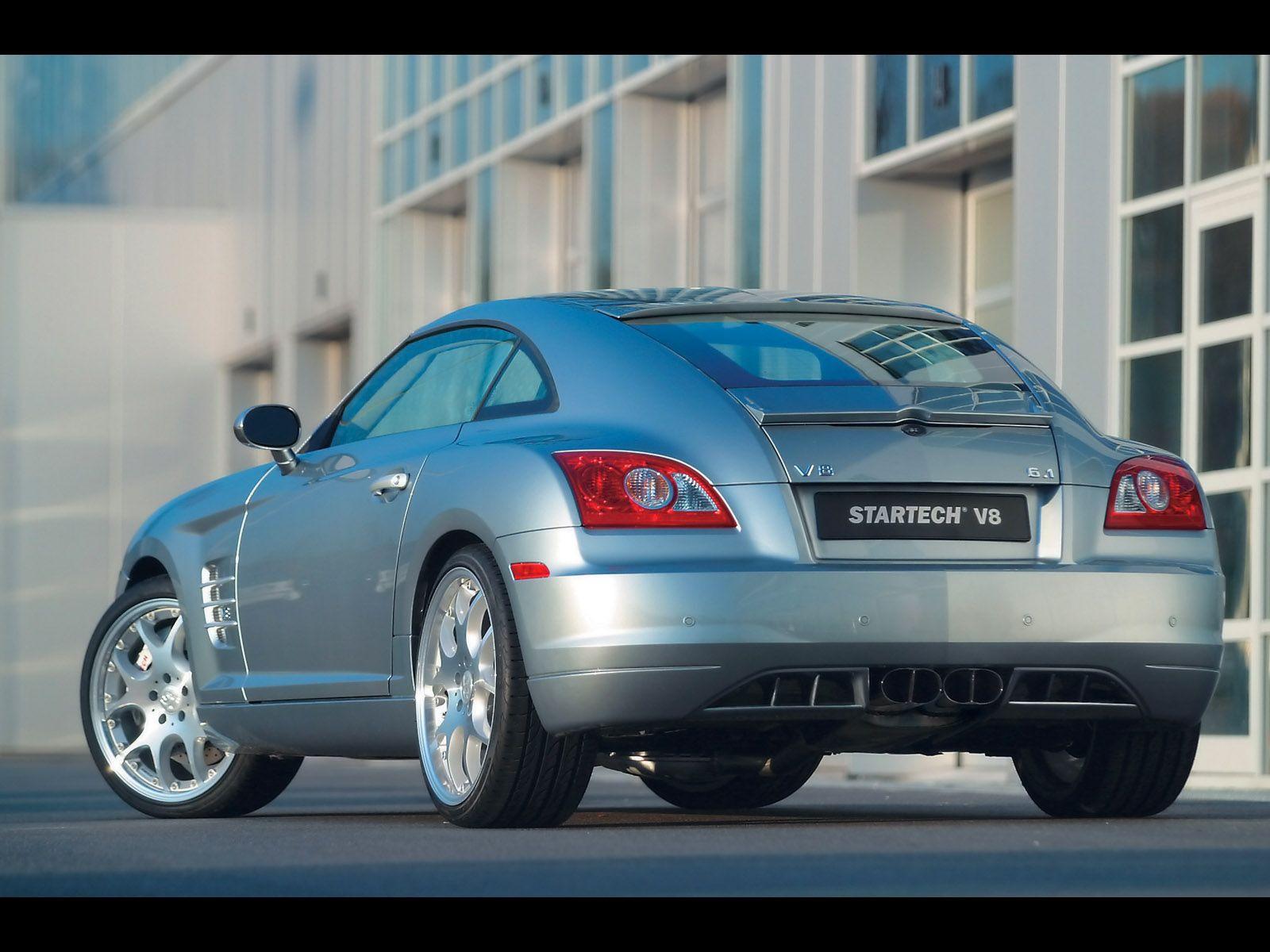 2005 Startech Chrysler Crossfire Coupe V8 6 1 Rear Angle
