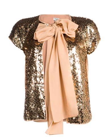 Sequins + Bow