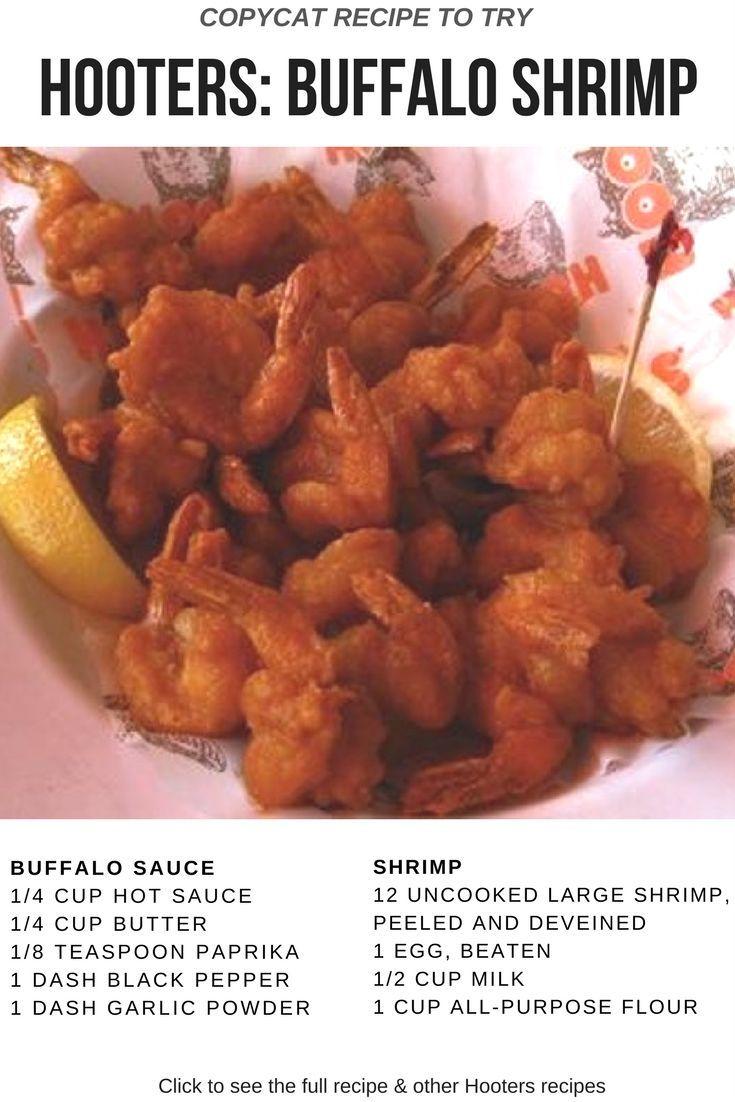 Hooters' Buffalo Shrimp copycat recipe is amazing #buffaloshrimp