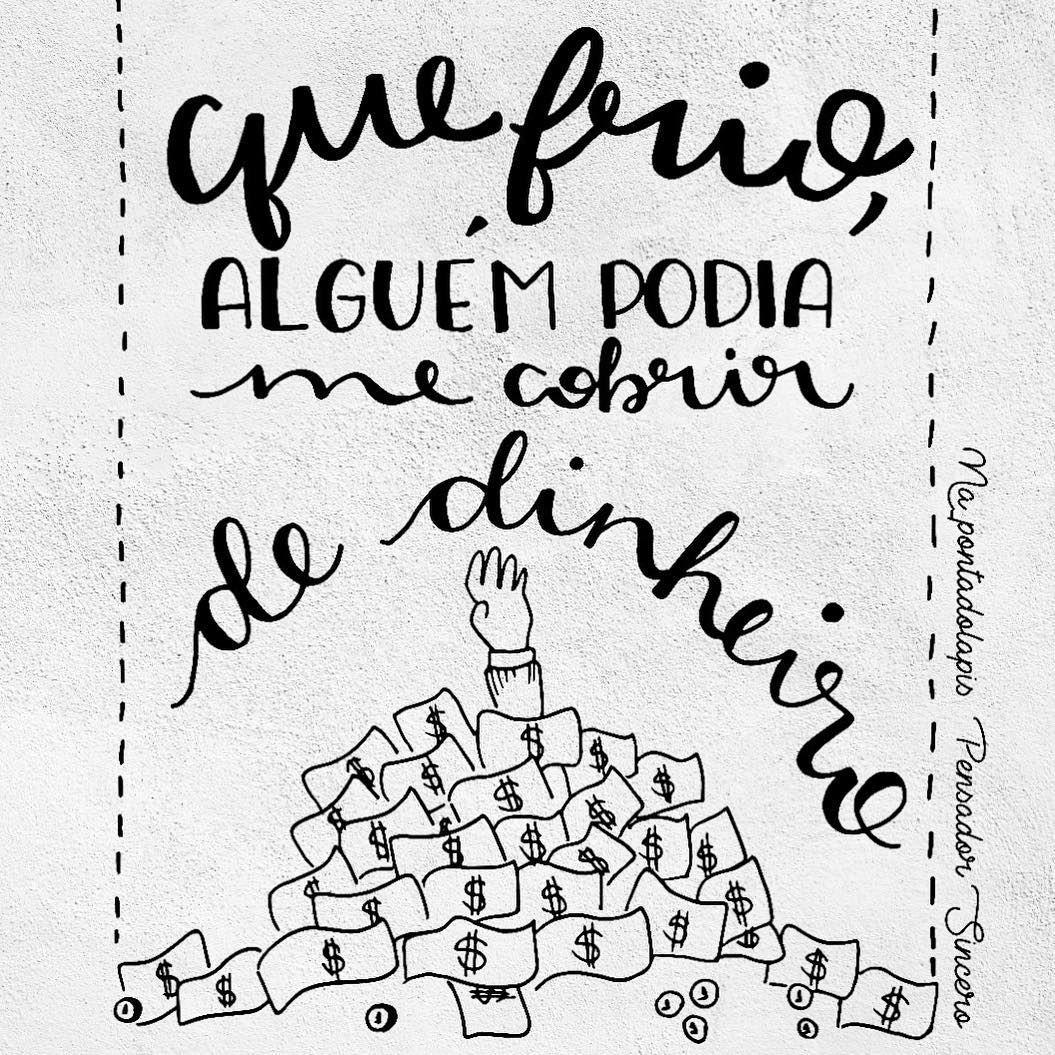 Alguem Por Ai Napontadolapis Frases Lettering