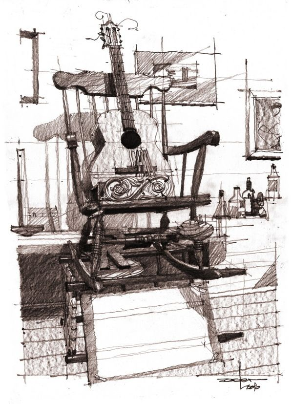 Architectural drawings by andrei zoster rducanu via behance architectural drawings by andrei zoster rducanu via behance solutioingenieria Image collections