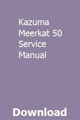 Kazuma meerkat 50cc chinese atv owners manual om-kazf110.