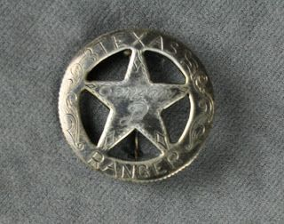 the NAVASOTA CURRENT: Texas Ranger Badges... and those that want to be
