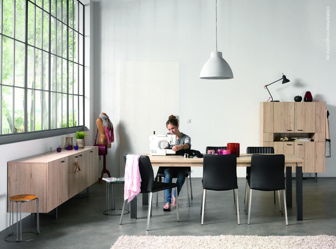 Interieurmagazine.com houten meubelen brengt warmte met zich mee in