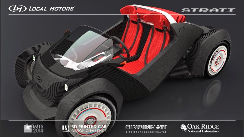 Kirill Klip.: Powered By Lithium: Meet STRATI - The First 3D Printed ...