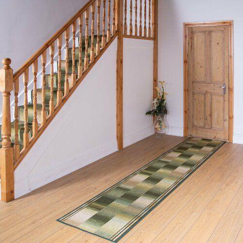 Teppich Almeida in Grün Rosalind Wheeler Teppichgröße: Läufer 100 x 540 cm