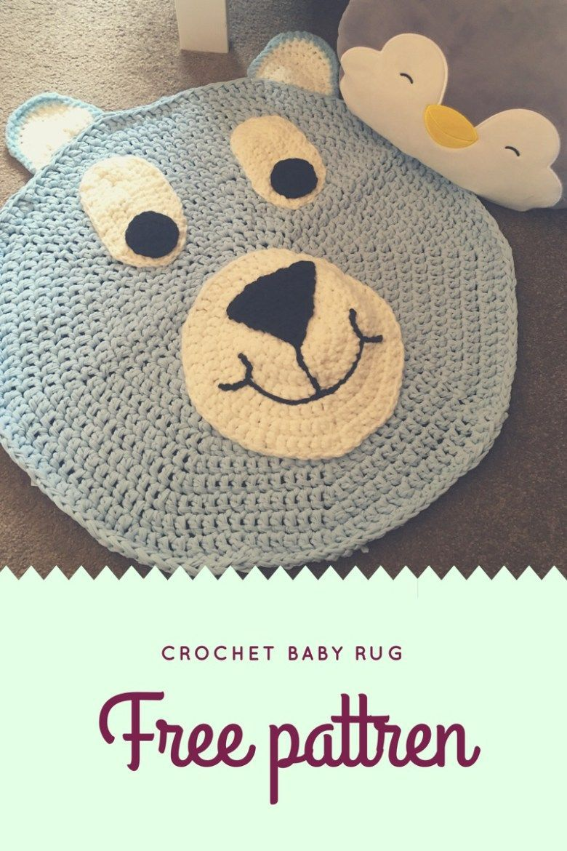 Crochet Rug Baby Boy Free Pattern Gift