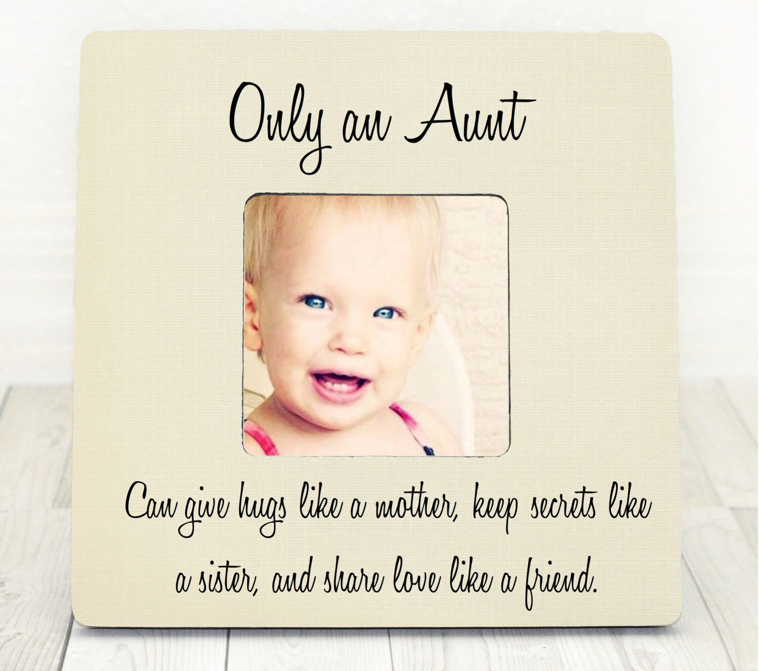 Christmas Gifts For Nephew And Niece: Aunt Niece GIFT Personalized Picture Frame Gift For Aunt