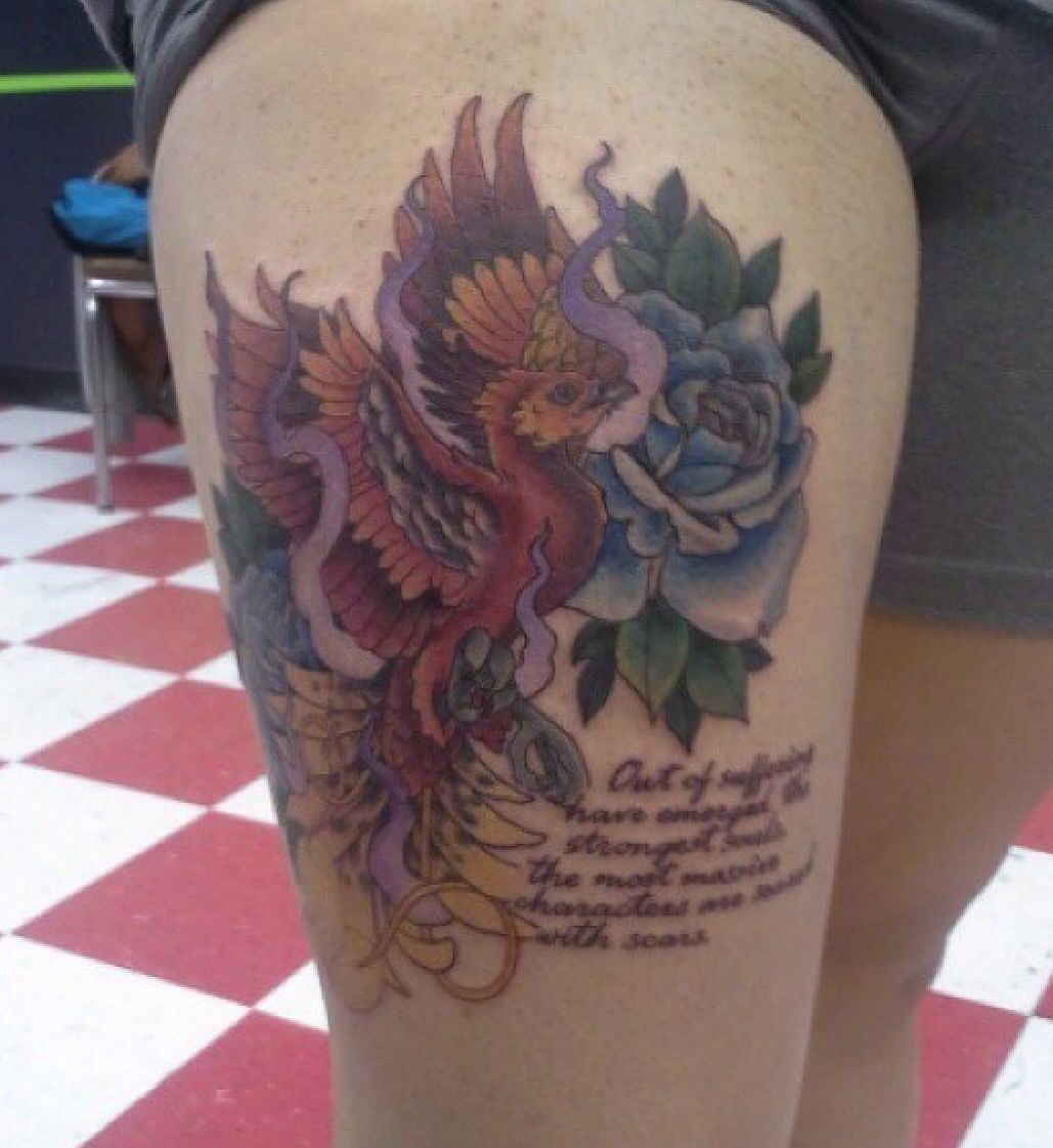 10++ Amazing Simple thigh tattoos quotes image ideas