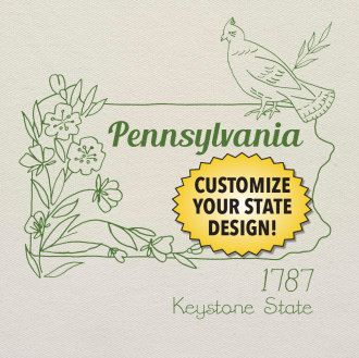 Pennsylvania customizable hand embroidery pattern to stitch pennsylvania customizable hand embroidery pattern to stitch find this pin and more on do it yourself solutioingenieria Gallery