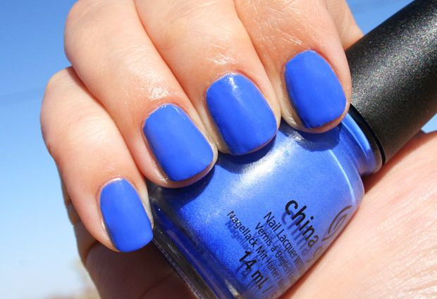 China Glaze Off Shore – Summer in a Nail Polish Bottle! Swatches and Review (I Sea The Point)