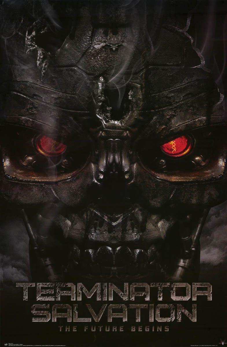 Terminator 4 Salvation Movie Poster 22x34 With Images