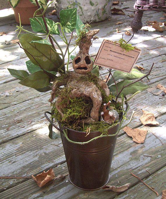 Haunting Decor MANDRAKE ROOT Halloween Decoration by Oddsurd, $1800
