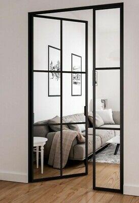 Crittall Style Steel Bespoke Interior Doors -steel/glass, do…
